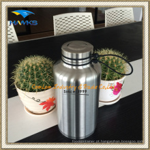 Garrafa de água de vácuo de aço inoxidável de 1.8L / Garrafa de viagem
