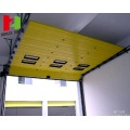 Overhead sectional garage door