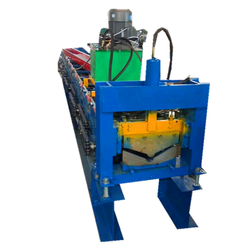 Roofing Ridge Cap Tile Roll Forming Machine