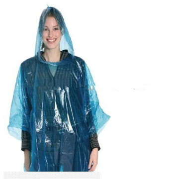 Poncho de pe color desechable para adultos