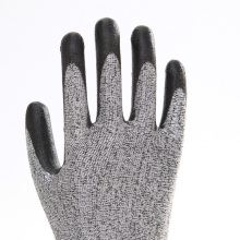 Polyester Breathable Cut Resistant Safety Gloves
