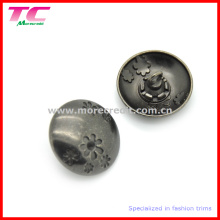 Модная декоративная металлическая швейная кнопка для одежды