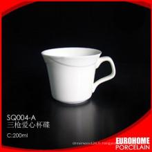 EuroHome phoenix série élégant hôtel nouvelle porcelaine bone china cup