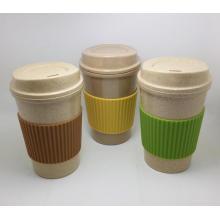 (BC-C1040) Modische Design Bambus Faser Kaffeetasse