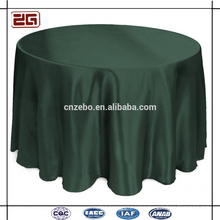Cheap Satin Fabric Colorful Banquet Used Tablecloths for Weddings Party