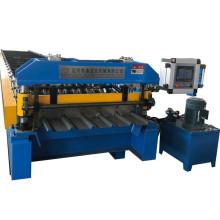 Trapezoidal profile roll forming machine