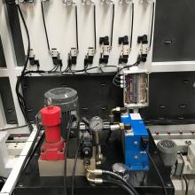 Ligne de scellage automatique verticale à double verre de 2500 mm