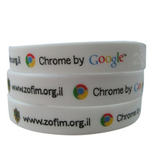 Promotional Silicone Bracelet with Country Flag