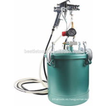 Depósito de pintura a presión de aire 10L - Teflón recubierto de acero