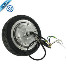 Hot Sale 800w 9 Inch Brushless Hub Motor Wheel Electric Motorcycle 24v