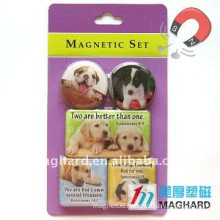 Dogs Magnetic Epoxy Gift promotional items fridge magnet holder