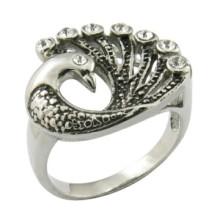 Nuevo modelo Deisgn anillo de la forma del pavo real