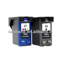 New Pigment compatible ink cartridge for HP56 57 ink cartridge chinese new product