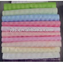 Tissu en coton rayé 40 * 40s