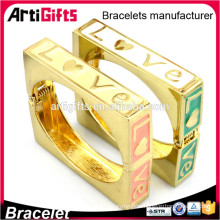 Promotional chinese couples love colorful bracelet