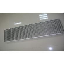 Sistema de drenaje lineal para exterior Drenaje de rejilla de acero inoxidable
