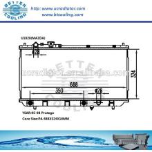 Radiador de agua para Mazda Protege 95-98 OEM: B6BG15200F