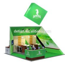 Detian oferece cabine de sistema de exposição de design personalizado