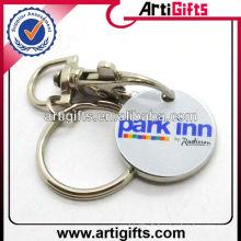 Porte-clés et porte-clés personnalisés en métal imprimé
