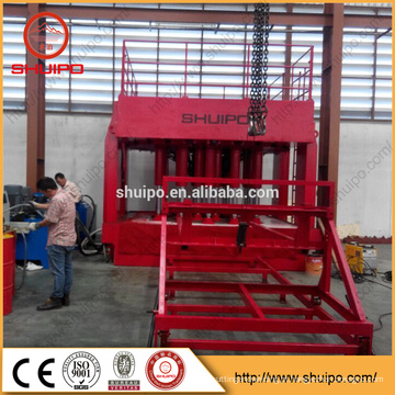 A extremidade terminada hidráulica que configura a máquina / Metal a máquina lustrando cabeça / a embarcação de pressão Tand Head que forma a máquina