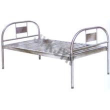 Edelstahl-flaches Krankenhausbett