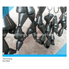 Raccords de soudure Butt Réducteurs de tuyaux en acier au carbone