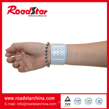 Safety printed reflective wristbands for running