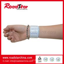 Impressos de segurança reflexivas pulseiras para correr