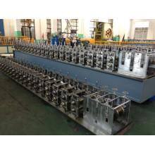 YTSING-YD-4796 Passé CE et ISO Full automatique galvanisé porte cadre machine de porte, cadre de porte faisant la machine