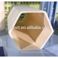 Large size hexagon hole 99.7%alumina ceramic tube