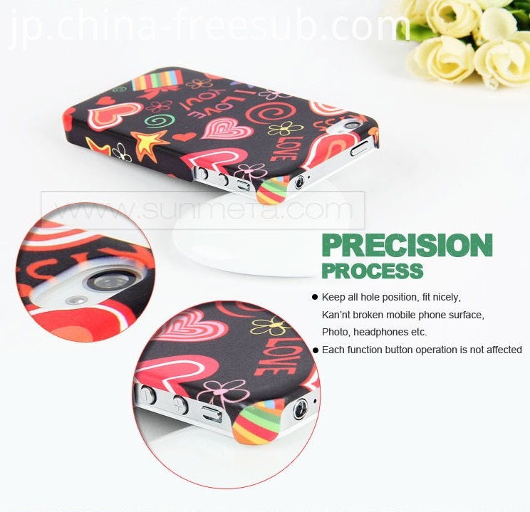 FREESUB Sublimation Heat Press Mobile Phone Covers