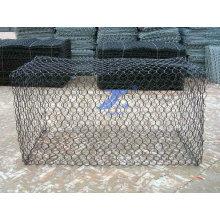 Construction Hexagonal Mesh PVC Gabion Basket