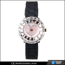 bright shinny case quartz wrist watch