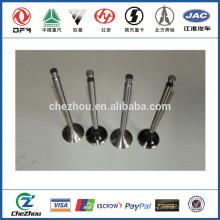 Intake&exhaust valve 3942588 ISLE engine parts applyed for 4BT\6BT diesel engine