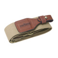 Tourbon hot sale two inch cotton fabric string and leather tactical sling