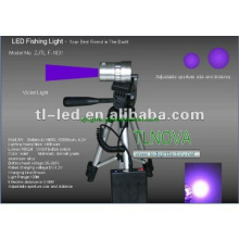 LED Fishing light Violet/ Purple Rechargeable