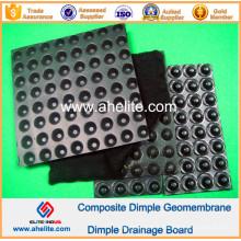 Géomembrane de Dimple de HDPE pour le terrain de football