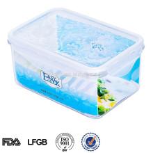 EASYLOCK 1.2L recipiente de armazenamento de alimentos de plástico em casa