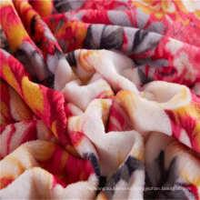 brushed super soft flannel fleece blanket