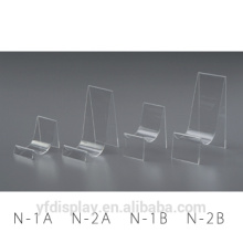 Factory Manufacturing Customized Shape Clear Acrylic Shoe Shelves