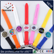 Großhandel Genf Uhr Frauen 2015 Uhren Mujer (DC-188)