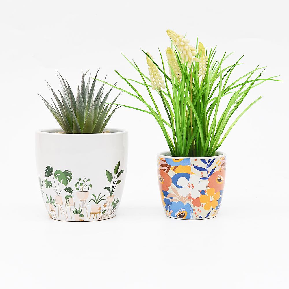 Vintage Cerami breathable flower pot