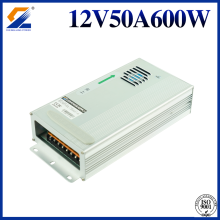 AC DC IP65 Rainproof Power Supply 12V 50A 600W