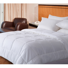 Washable Quilted  Quilts for Hotel White Color
