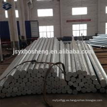 100% de soldadura por penetración de acero galvanizado polea de acero
