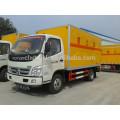 2015 venta caliente Foton 4x2 camión de fuegos artificiales, pequeño coche civil explosivo