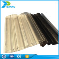 Popular fashionable fiberglass flat plastic garage roofing sheets