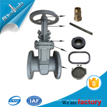 Válvula de compuerta industrial de suministro de agua en Rusia estándar BD VALVULA