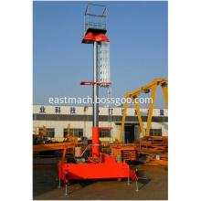 15m Electric Lift Ladder Hydraulic Telescopic Man Lift