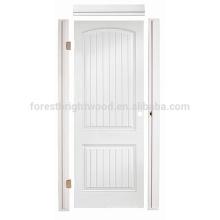 A porta moldada HDF do núcleo oco interior do banheiro da sala de visitas, HDF moldou a porta